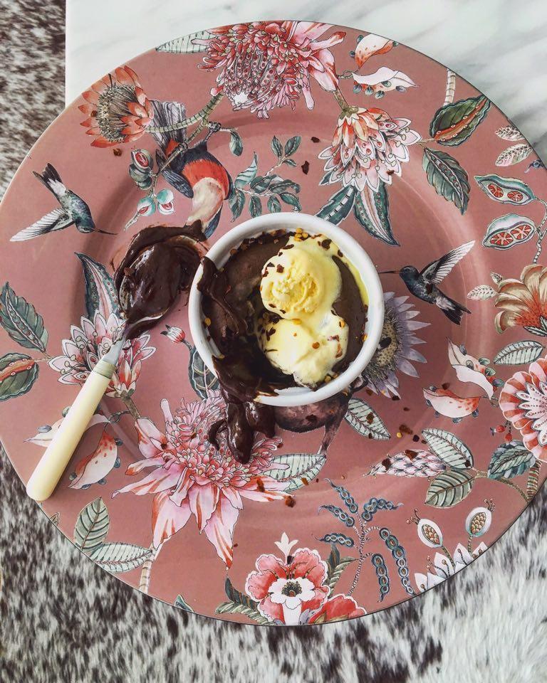 Csoki soufflé